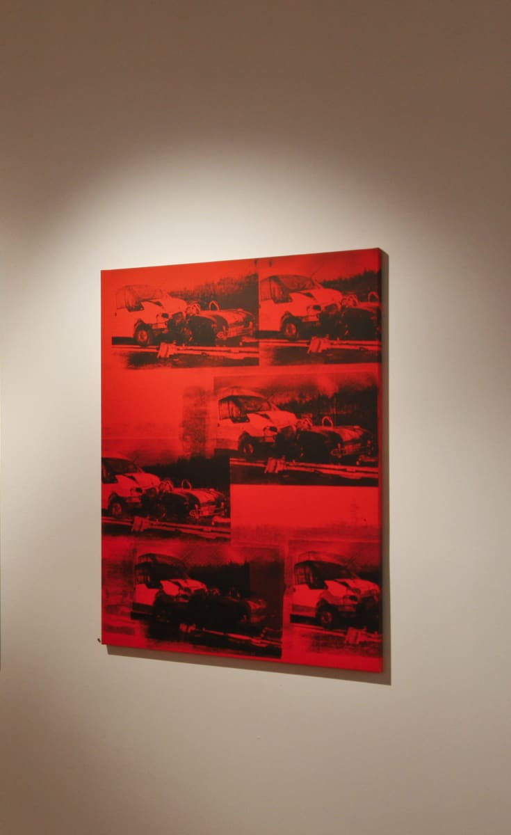 Gavin TURK, Transit VS Cobra Disaster Red, 2011