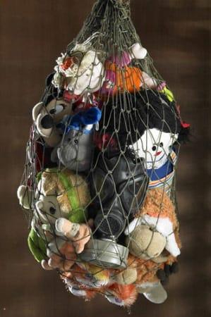 Shadi GHADIRIAN, Nil Nil #08 (Toys in fishnet), 2008