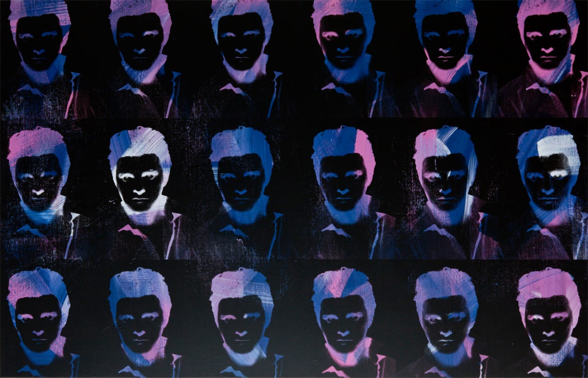 Gavin TURK, Negative Multiple Midnight Elvis, 2011