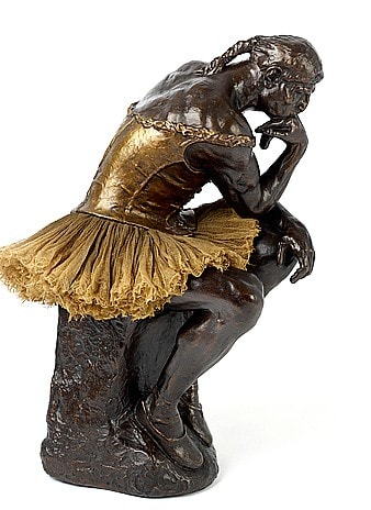Nancy FOUTS, The Thinking Ballerina (Rodin Degas), 2010