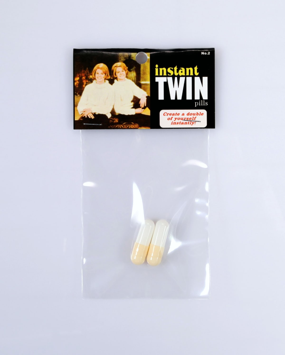 Instant twin pills