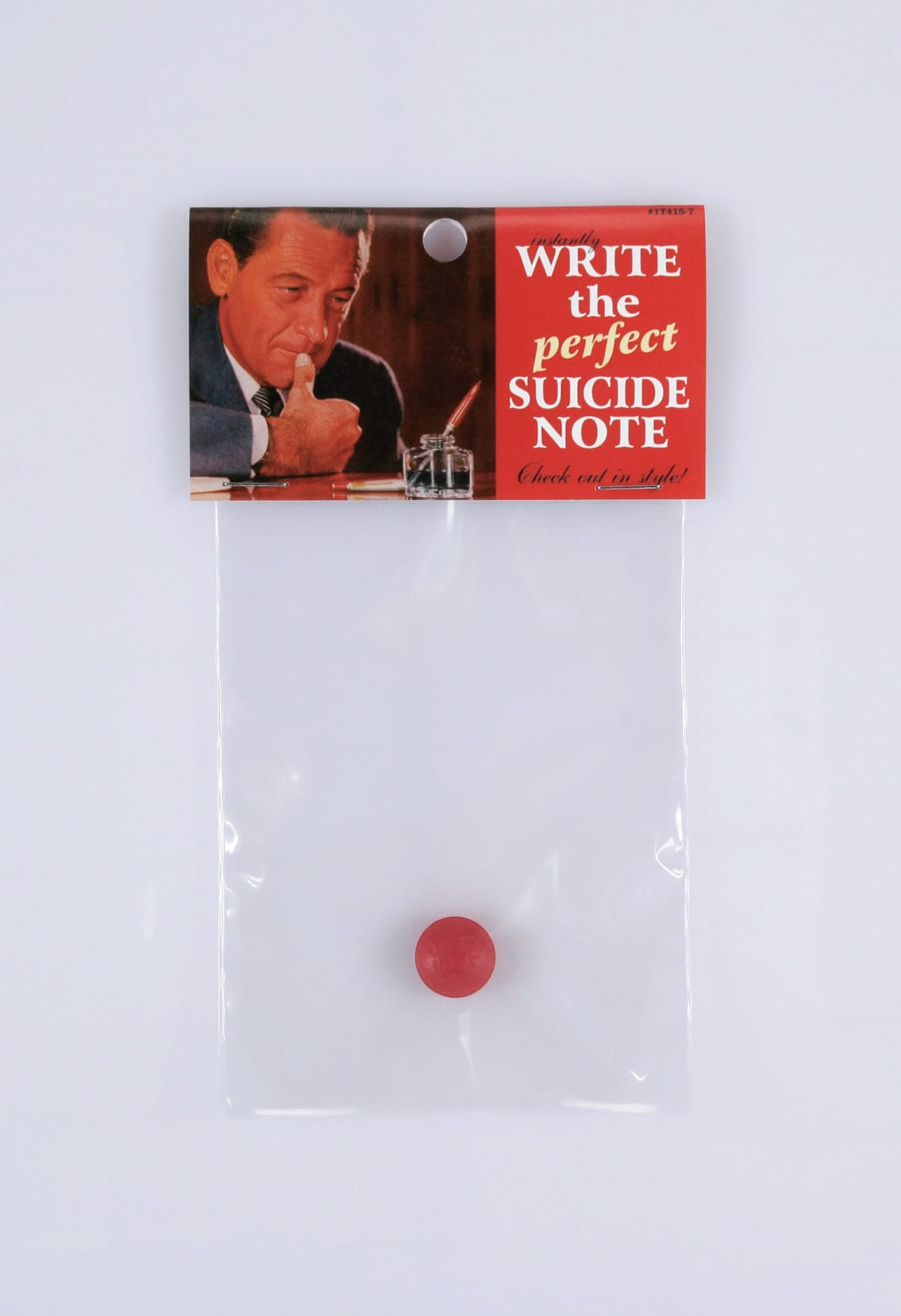 Write the perfect suicide note