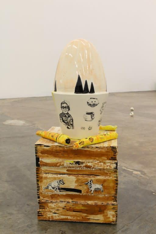 Florentine & Alexandre LAMARCHE-OVIZE, Pop Column, 2017