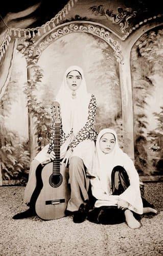 Shadi GHADIRIAN, Qajar (guitar) #26, 2001