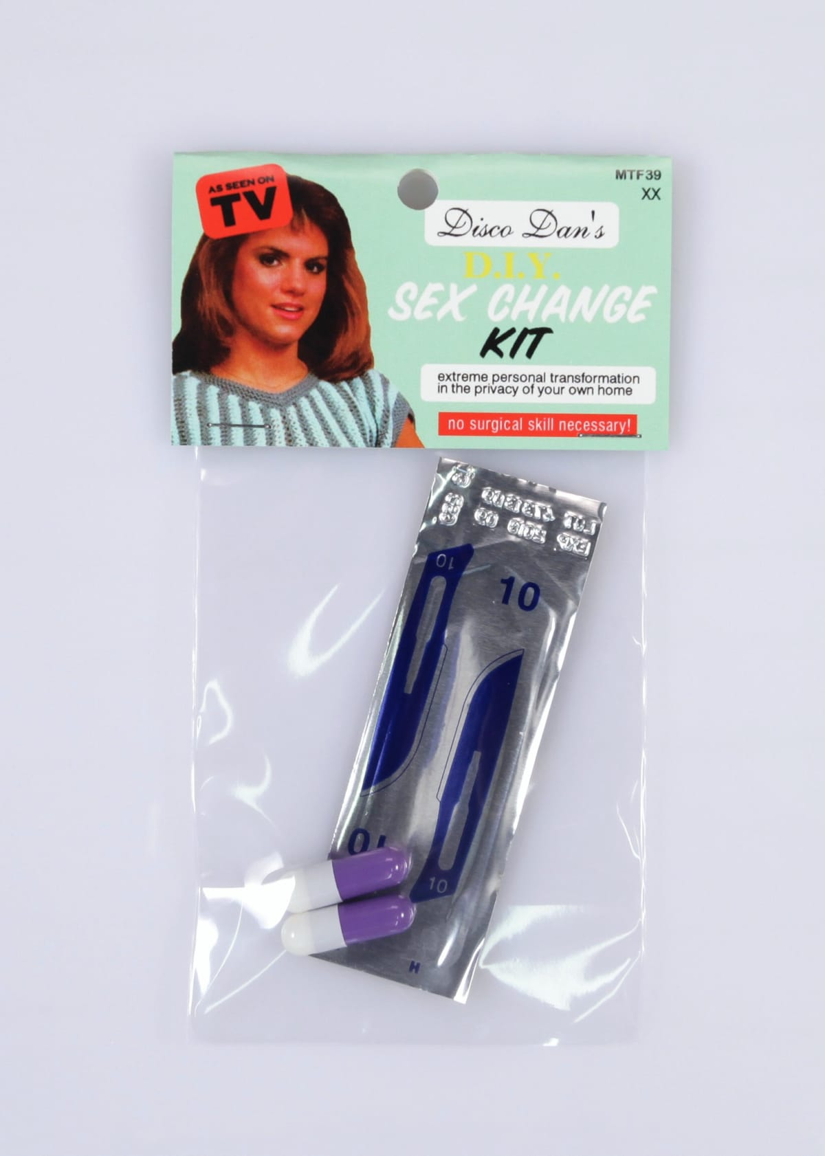 D.I.Y. Sex change kit for men