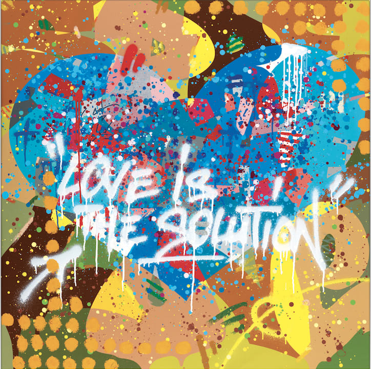 Cyril Kongo, Love Is the Solution, 2017