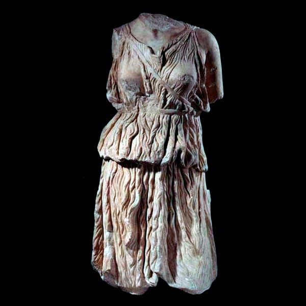 Roman Marble Torso of the Goddess Diana, 100 CE - 200 CE