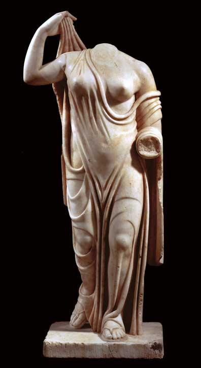 Sculpture of Aphrodite (Venus Genetrix), 3rd Century CE