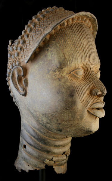 Ife Bronze Head, 16th Century CE - 18th Century CE