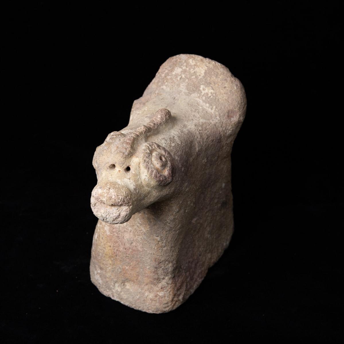 Syro Hittite Ram, 2500-1500 BC Terracotta 20 x 23 x 10 cm 7 7/8 x 9 1/8 x 4 in