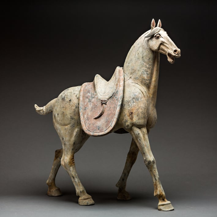 Pair of Tang Horses, 618 CE - 906 CE