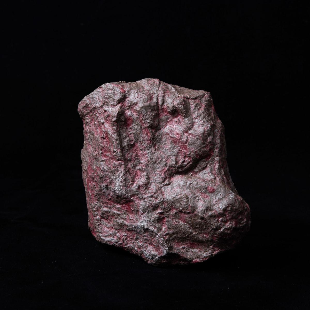 Meekyoung Shin Megalith MS11, 2019 Glazed stoneware 16 x 9 x 14.5 cm 6 1/4 x 3 1/2 x 5 3/4 in