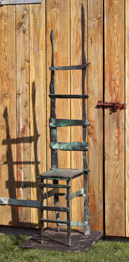 Helen Sinclair Ladder Backed Chair, 2016 Bronze Sculpture 163 x 32.5 x 31 cm 64 1/8 x 12 3/4 x 12 1/4 in Edition 3 of 7