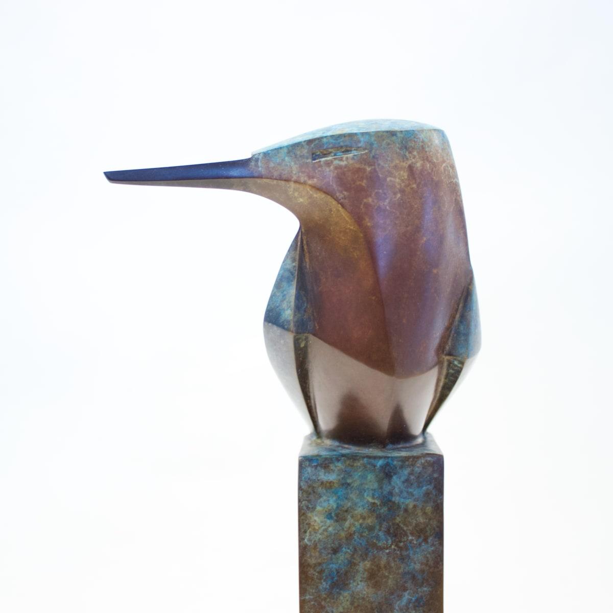 Paul Harvey Kingfisher, 2019 Bronze Sculpture 30 x 11 x 6 cm 11 3/4 x 4 3/8 x 2 3/8 in Edition 7 of 90