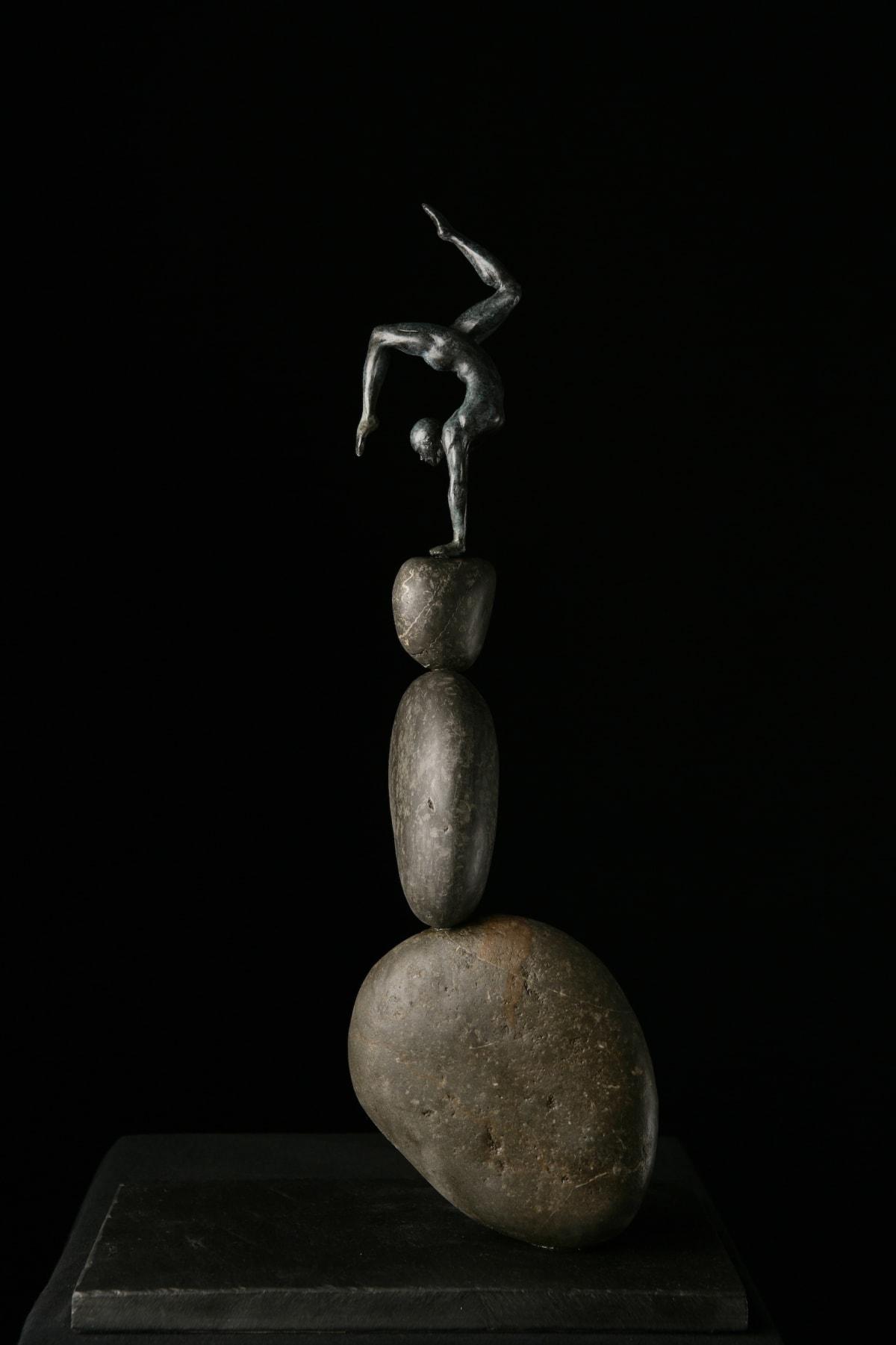 Brendon Murless Balance, 2019 Bronze Sculpture 54 x 30 x 18 cm 21 1/4 x 11 3/4 x 7 1/8 in Edition 6 of 8