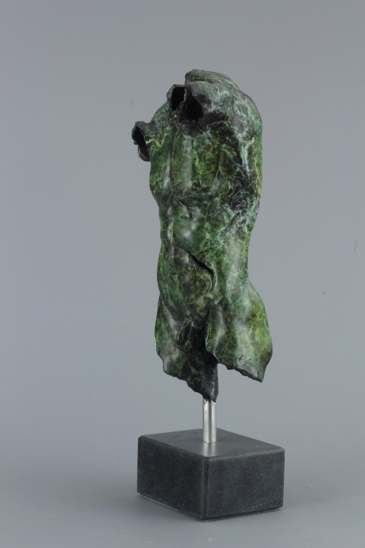Mirek Brandejs Small Male Torso, 2018 Bronze Sculpture 35 x 11 x 8 cm 13 3/4 x 4 3/8 x 3 1/8 in Edition 1 of 30