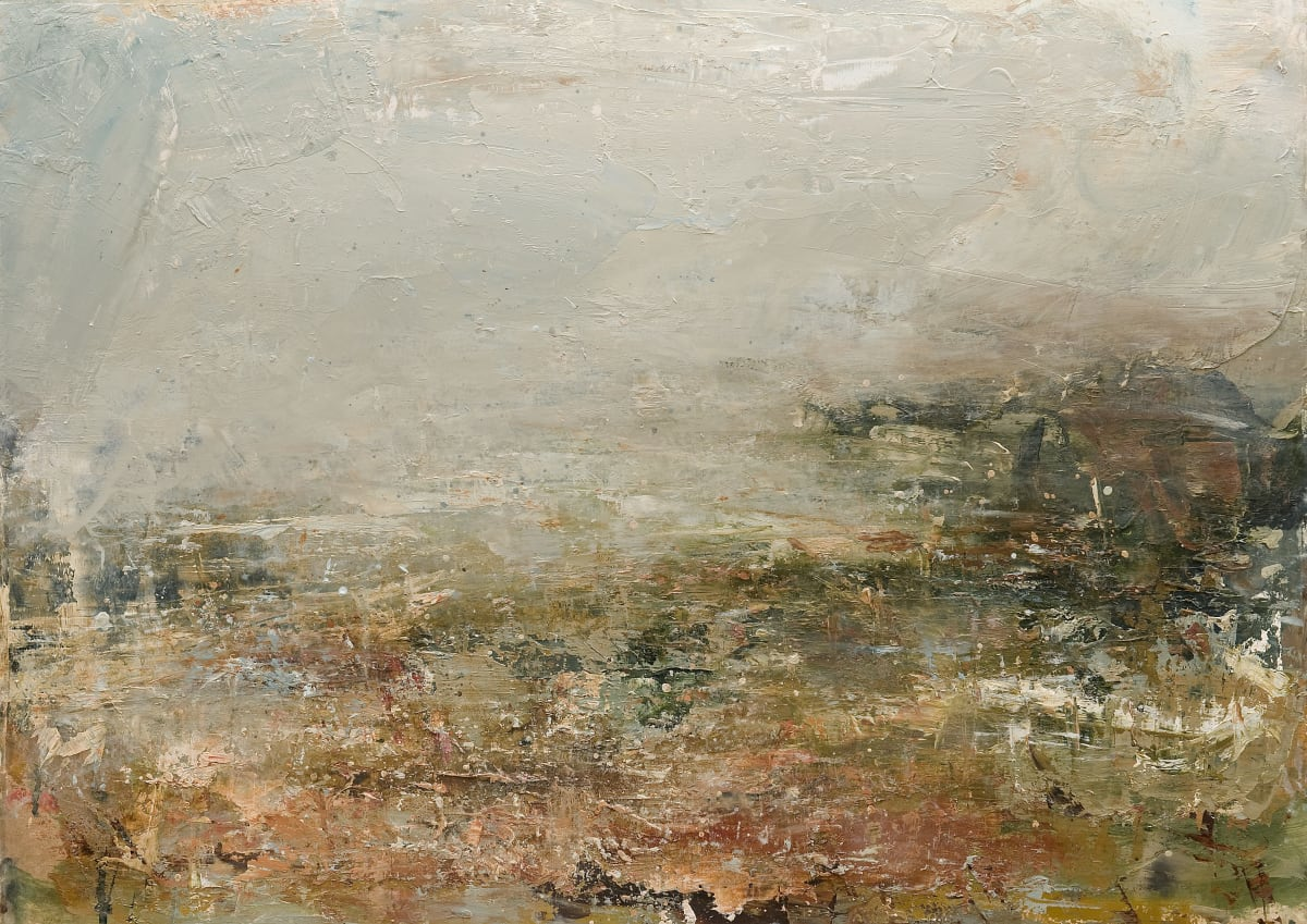 Dion Salvador Lloyd Furtherfield, 2019 Oil on Canvas 56 x 77 x 4.5 cm 22 1/8 x 30 1/4 x 1 3/4 in
