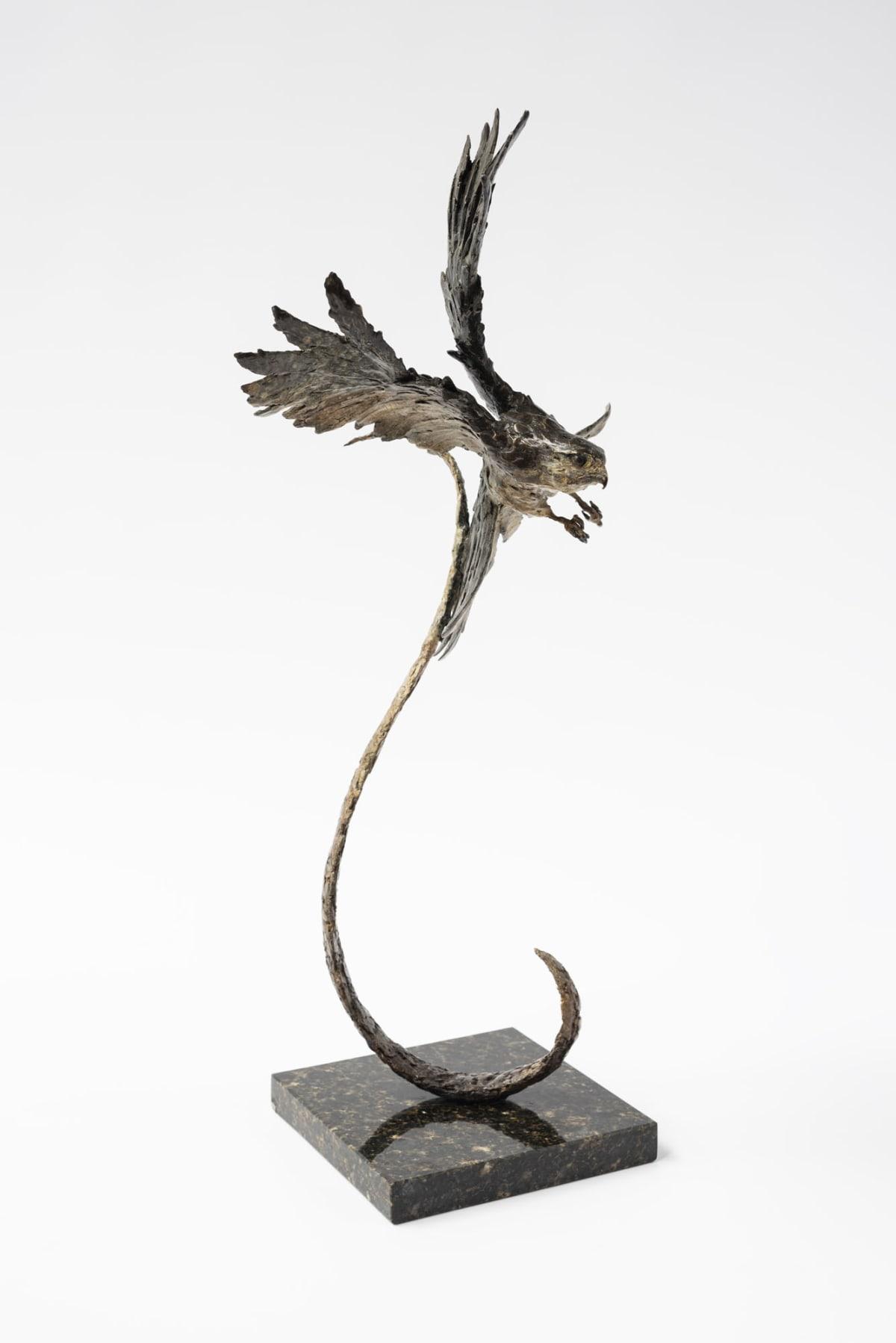 Damon Price Merlin's Approach, 2019 Bronze Sculpture 70 x 36 x 28 cm 27 1/2 x 14 1/8 x 11 1/8 in Edition 1 of 15