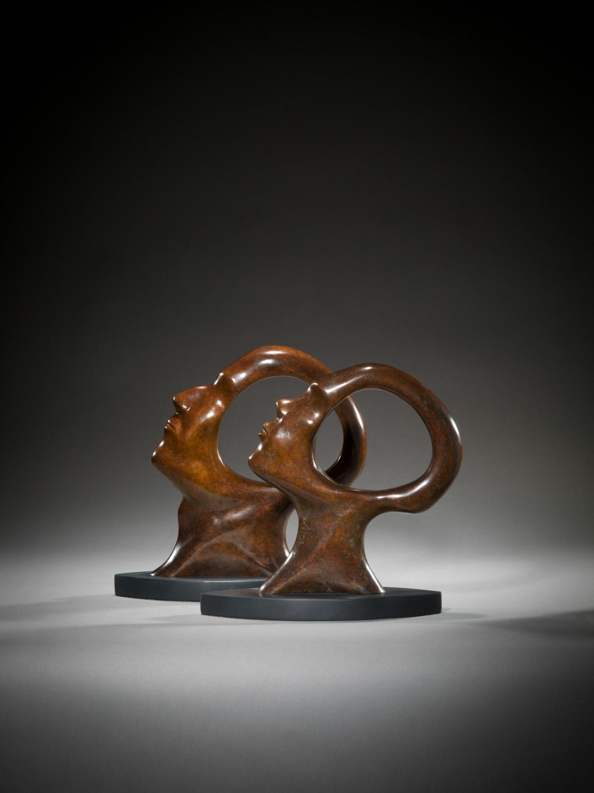 Simon Gudgeon Search for Enlightenment, 2018 Bronze Sculpture 33 x 27 x 6 cm 13 x 10 5/8 x 2 3/8 in 13 of 150