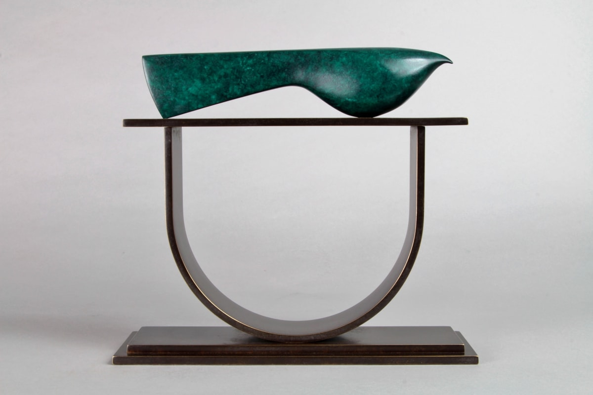 Stephen Page Hatchet Bird, 2018 Bronze Sculpture 20 x 23 x 7 cm 7 7/8 x 9 1/8 x 2 3/4 in Edition 18 of 25