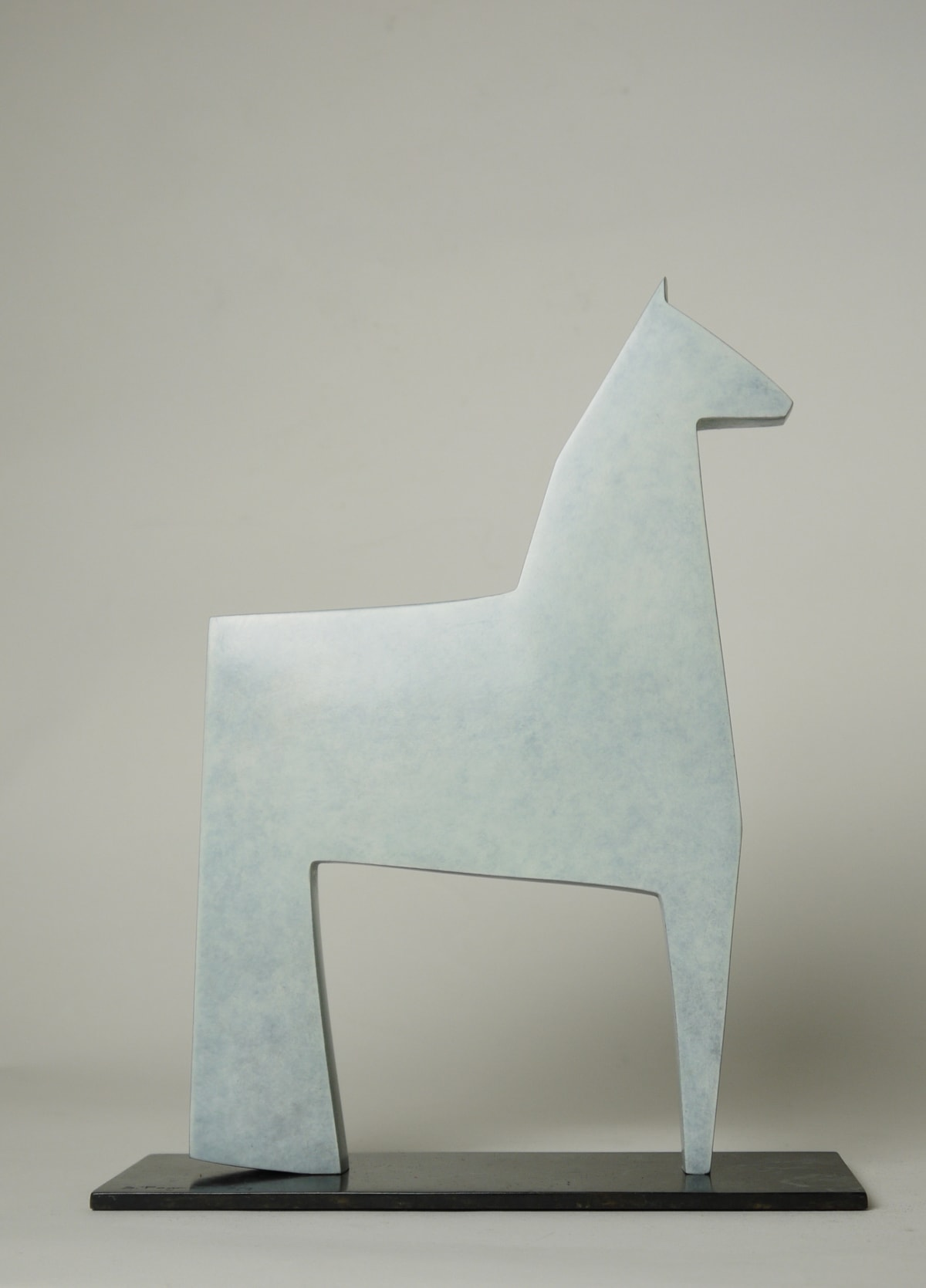 Stephen Page White Horse, 2018 Bronze Sculpture 29 x 21 x 7 cm 11 3/8 x 8 1/4 x 2 3/4 in Edition 6 of 9