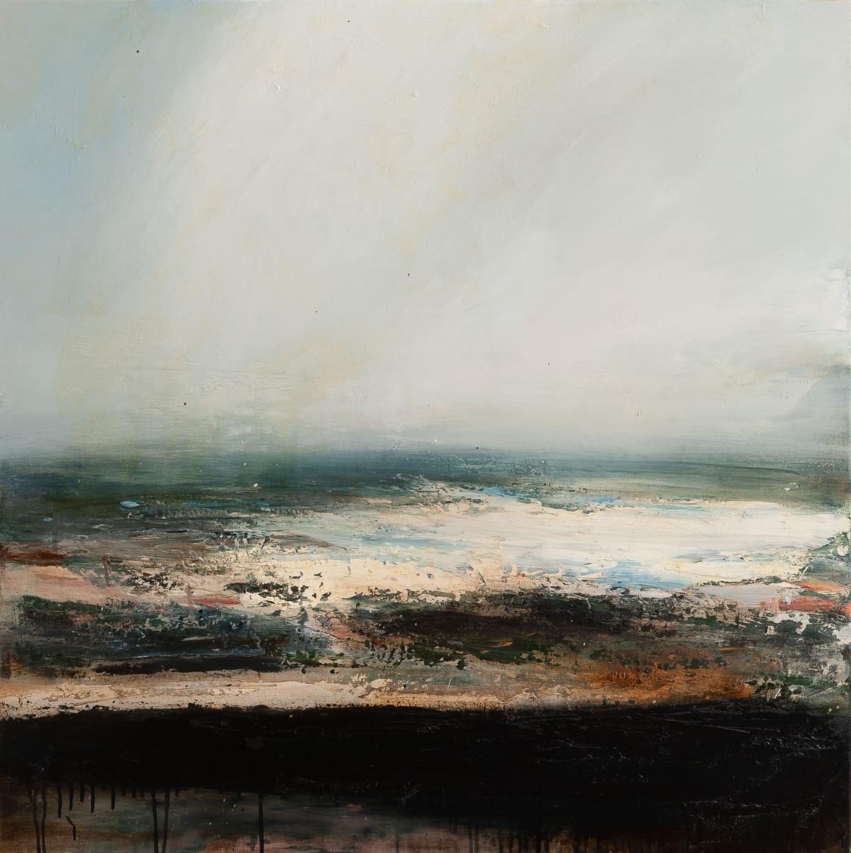 Dion Salvador Lloyd Skylight, 2019 Oil on Canvas 105 x 105 x 5 cm 41 3/8 x 41 3/8 x 2 in