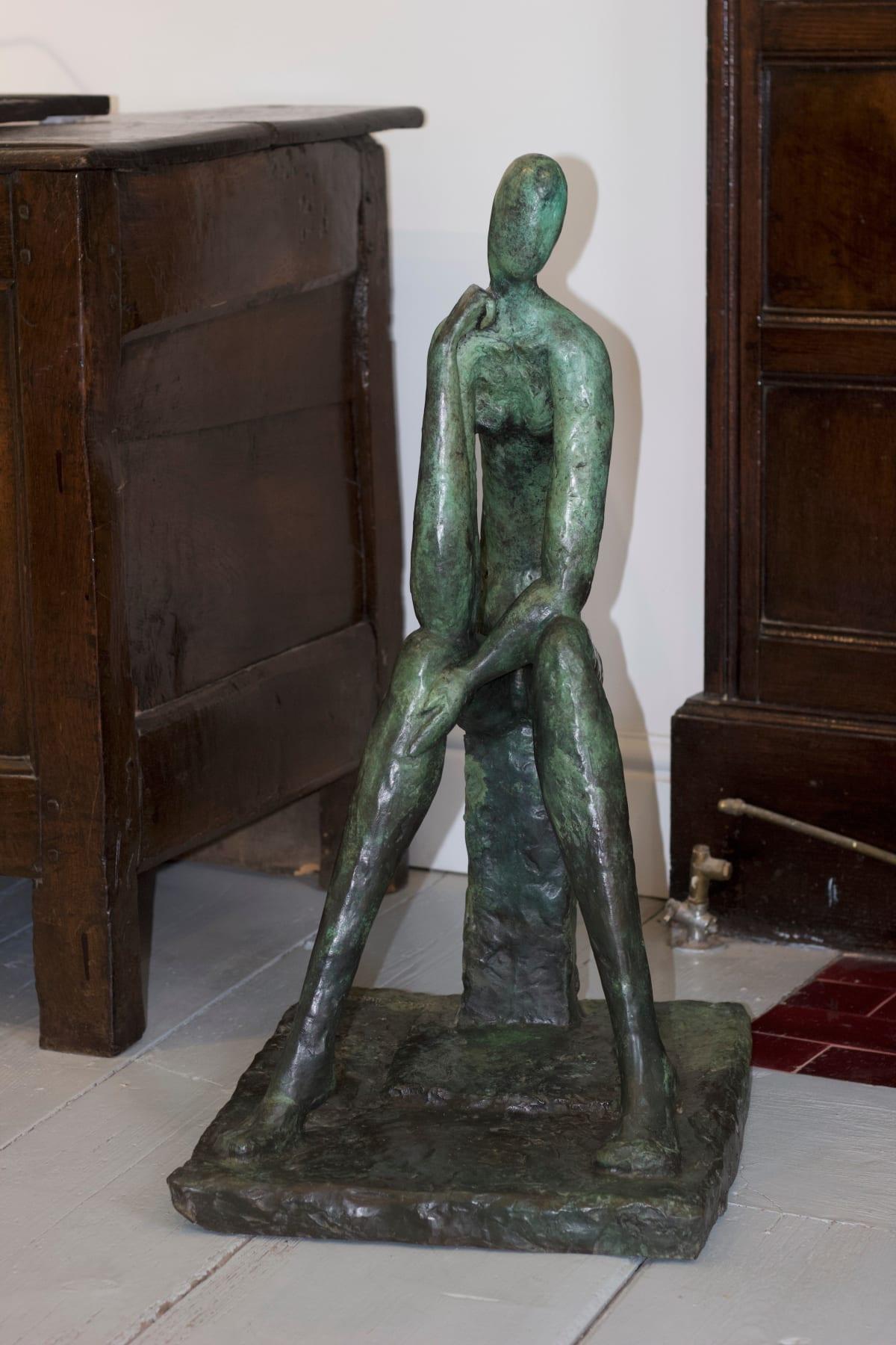 Helen Sinclair Sophistry, 2017 Bronze Sculpture 71 x 36 x 43 cm 28 x 14 1/8 x 16 7/8 in Edition 6 of 7