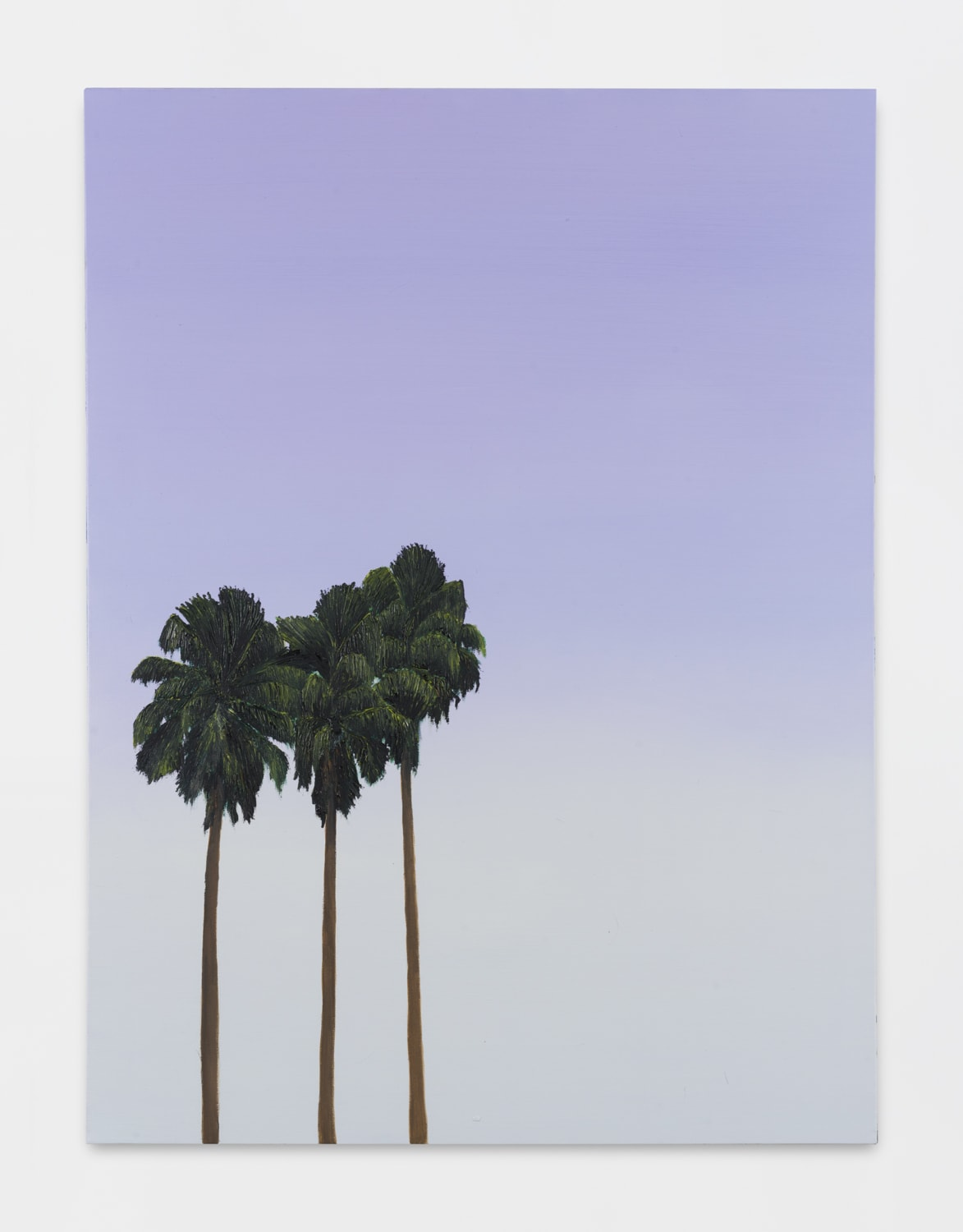 Alec Egan, Palms at Dusk, 2019