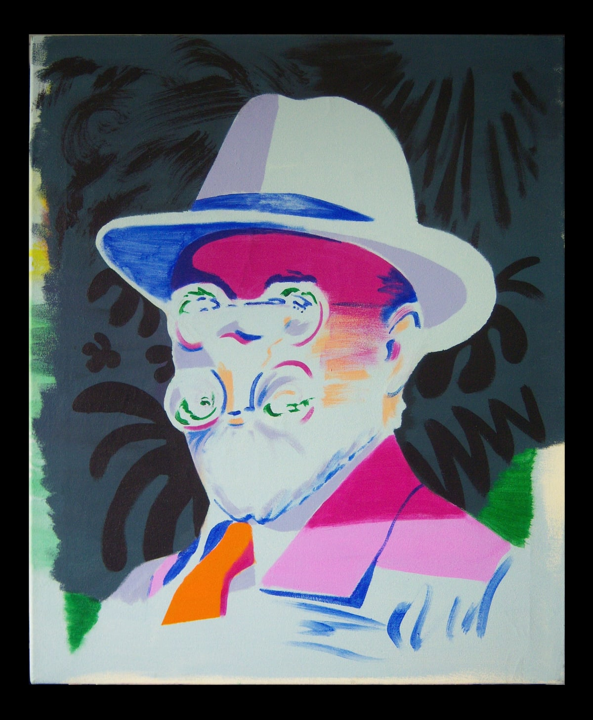 Darren Coffield Matisse, 2016 Acrylic on canvas 81.9 x 72.1 cm 32 1/4 x 28 3/8 in