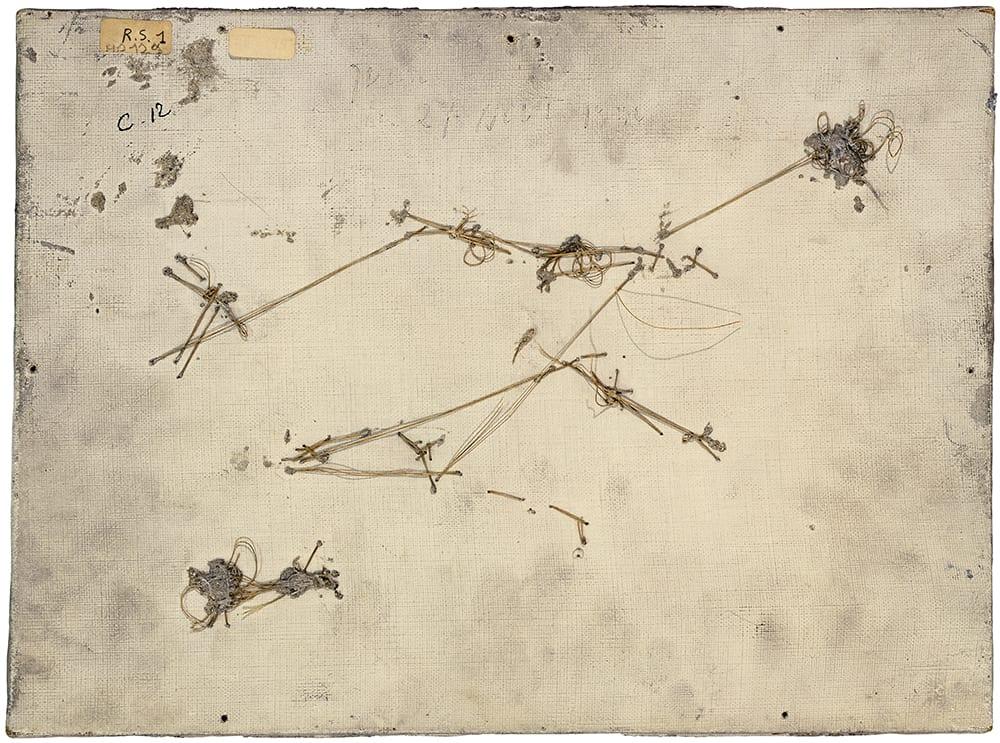 PHILIPPE GRONON, Verso n°58, Objet à la feuille de palmier, par Pablo Picasso, collection Musée national Picasso-Paris , 2016