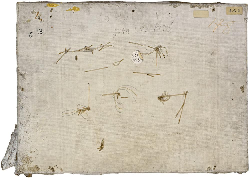 PHILIPPE GRONON, Verso n°59, Paysage aux bateaux, par Pablo Picasso, collection Musée national Picasso-Paris , 2016