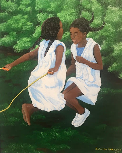 Sylvester McKissick After School , 2007 Acrylic on Canvas 16 x 20
