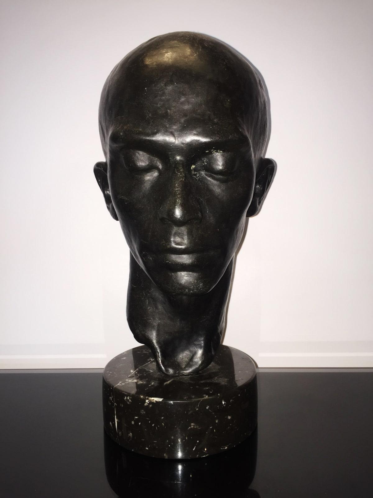 Richmond Barthe Head of a Dancer:Harald Kreutzberg, c. 1933 Bronze 13 x 8 x 6