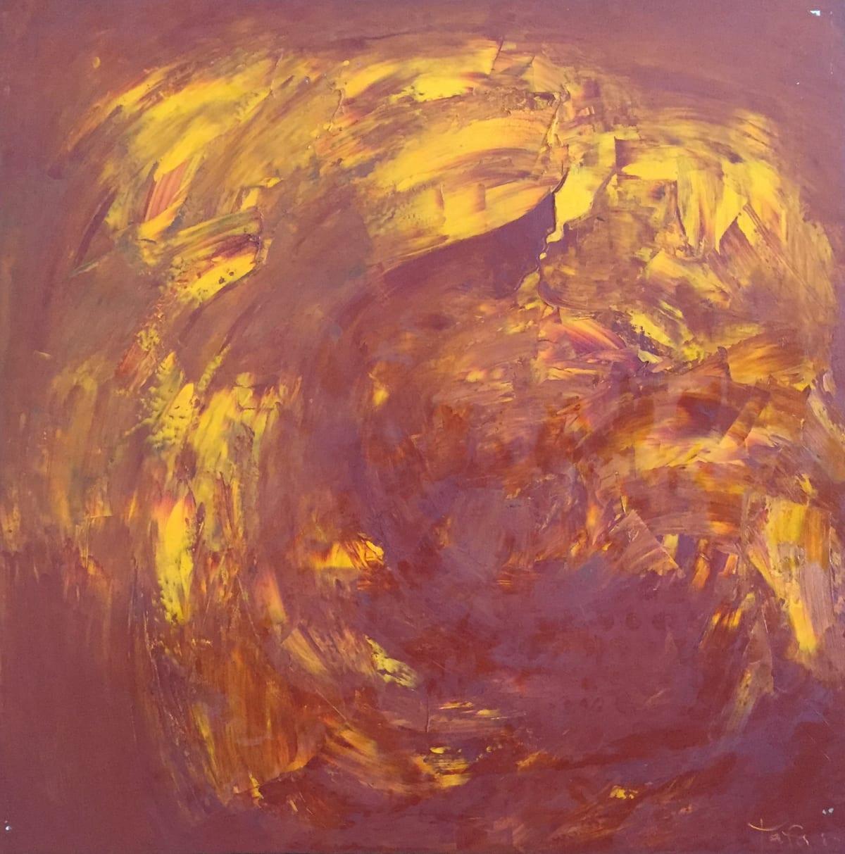 TAFA The First Kiss, 2007.0 Oil on Canvas 34 x 34