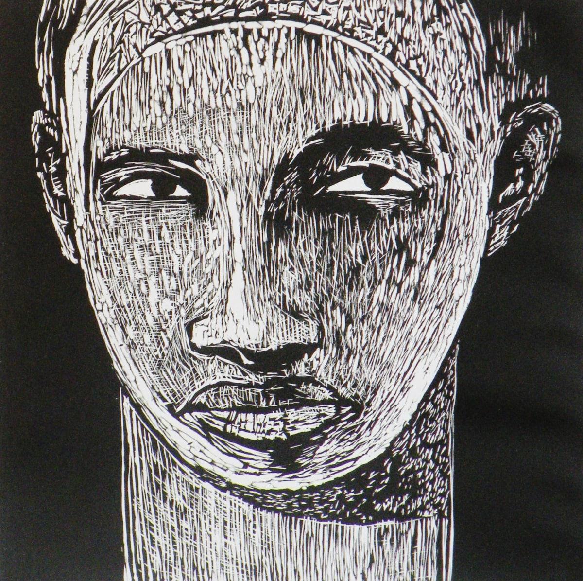 Samella Lewis I See You, 2005 Linocut 25 1/2 x 20 1/2 I See You