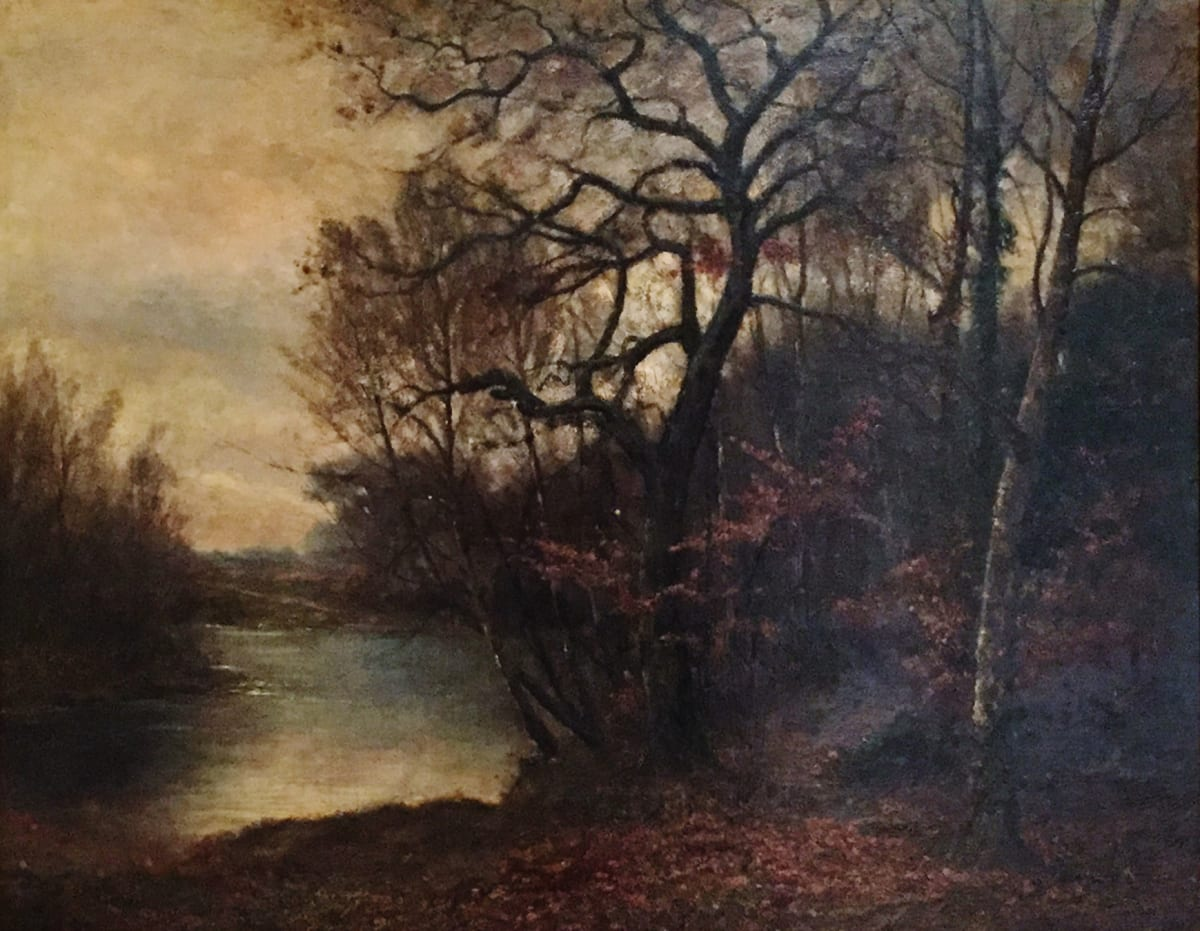 Charles Ethan Porter Forest, c.1879 Oil on Canvas 30 x 40
