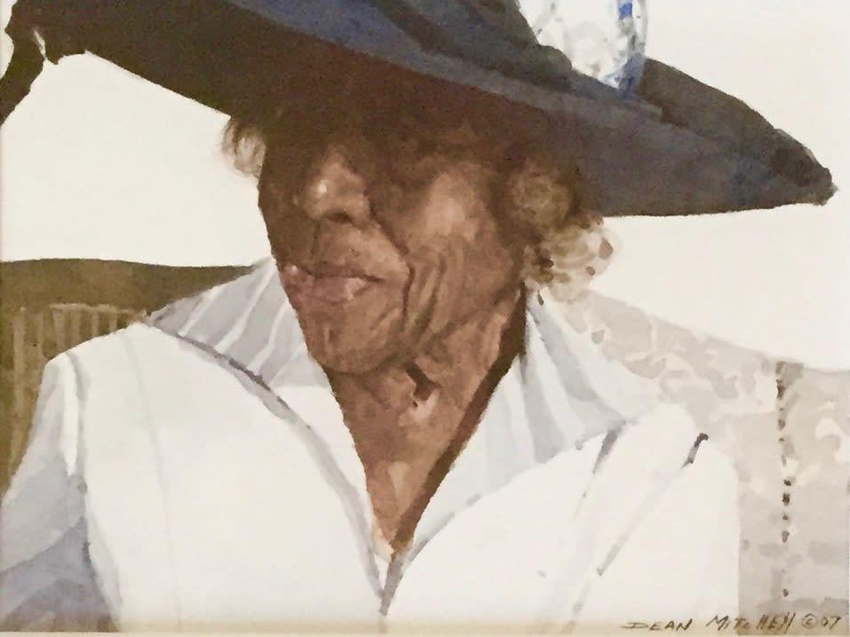 Dean Mitchell Rowena, 2007.0 Watercolor 7 x 9 3/4