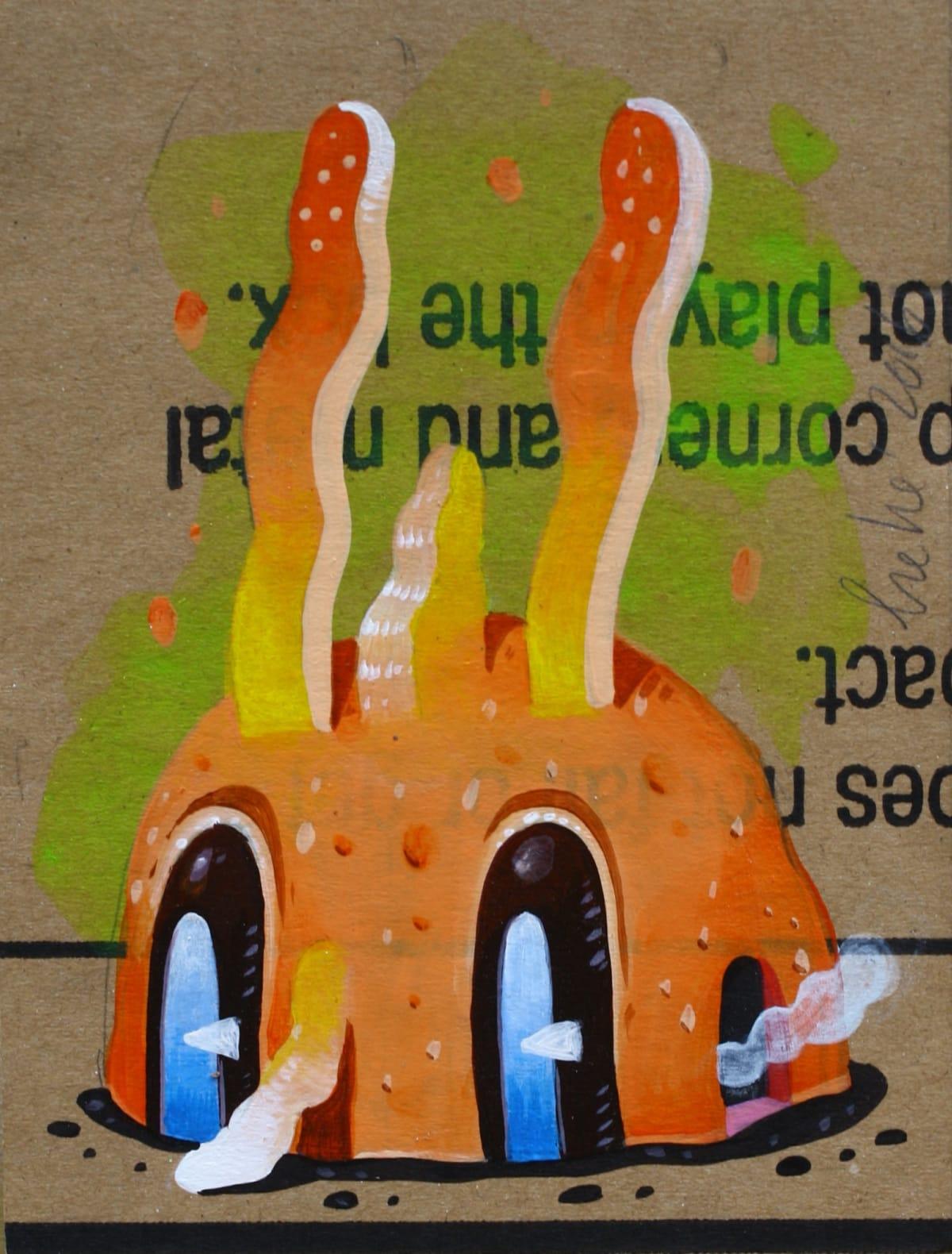 Hendra HeHe Harsono, Orange bunny