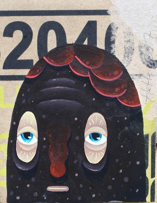Hendra HeHe Harsono, Black jelly mask