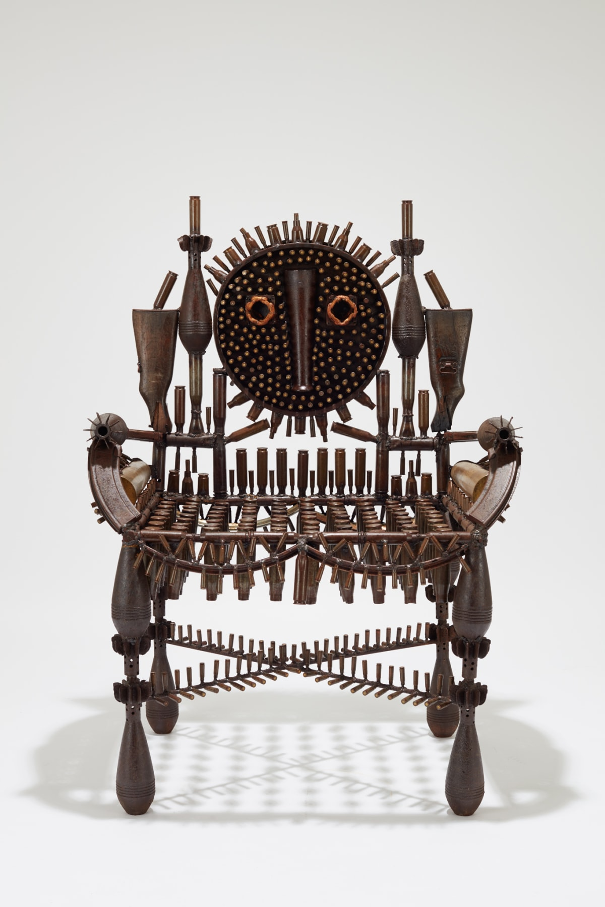 Goncalo Mabunda, The Captivating Throne, 2019