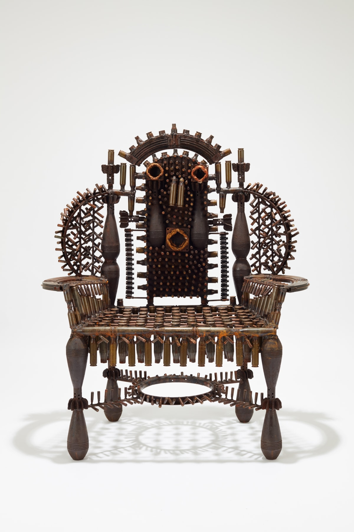 Goncalo Mabunda, The Throne of Languages, 2019