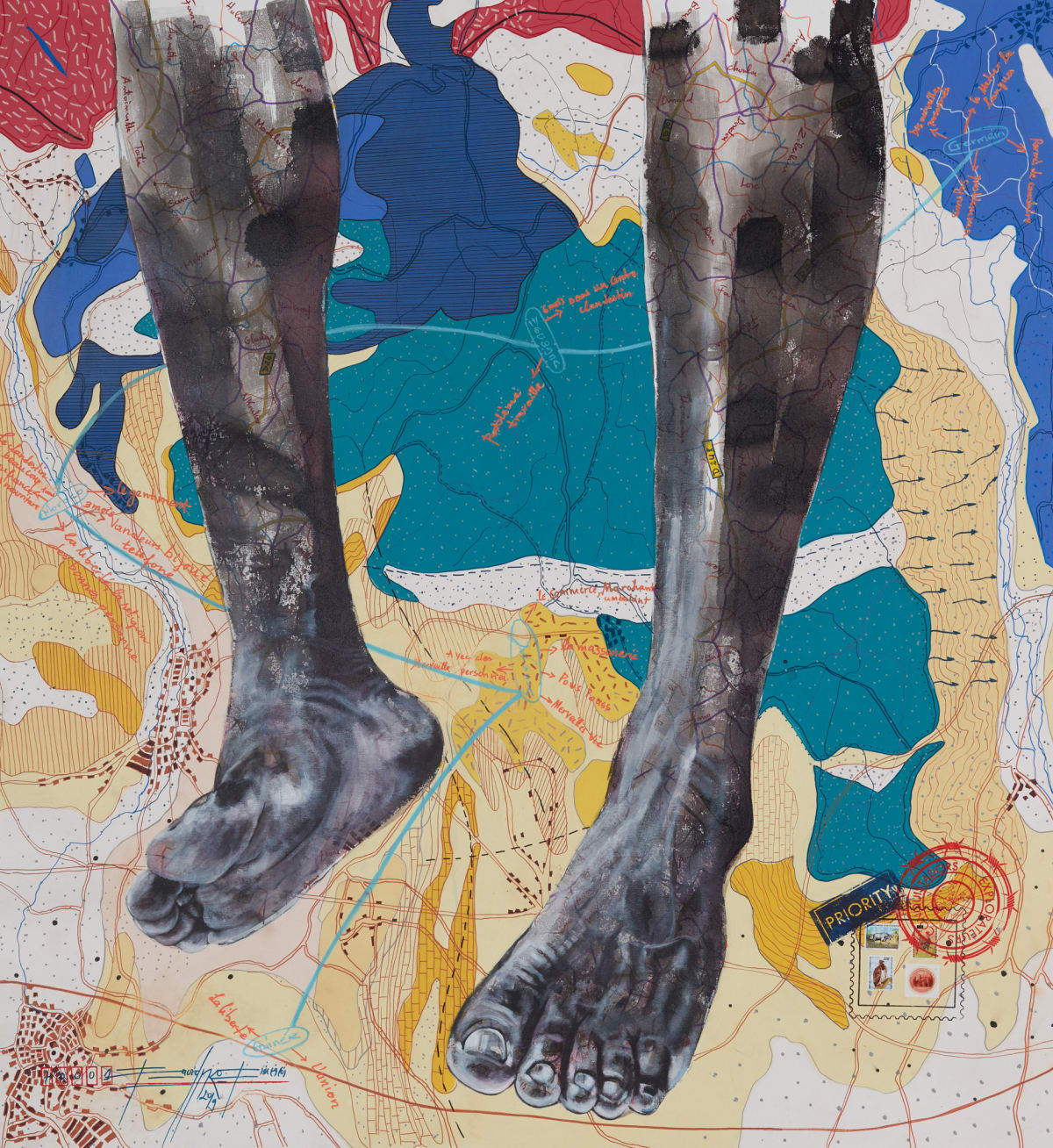 Jean David Nkot, www. the feet story. org, 2019