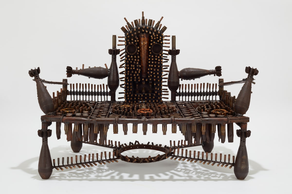 Goncalo Mabunda, The Impenetrable Throne, 2019