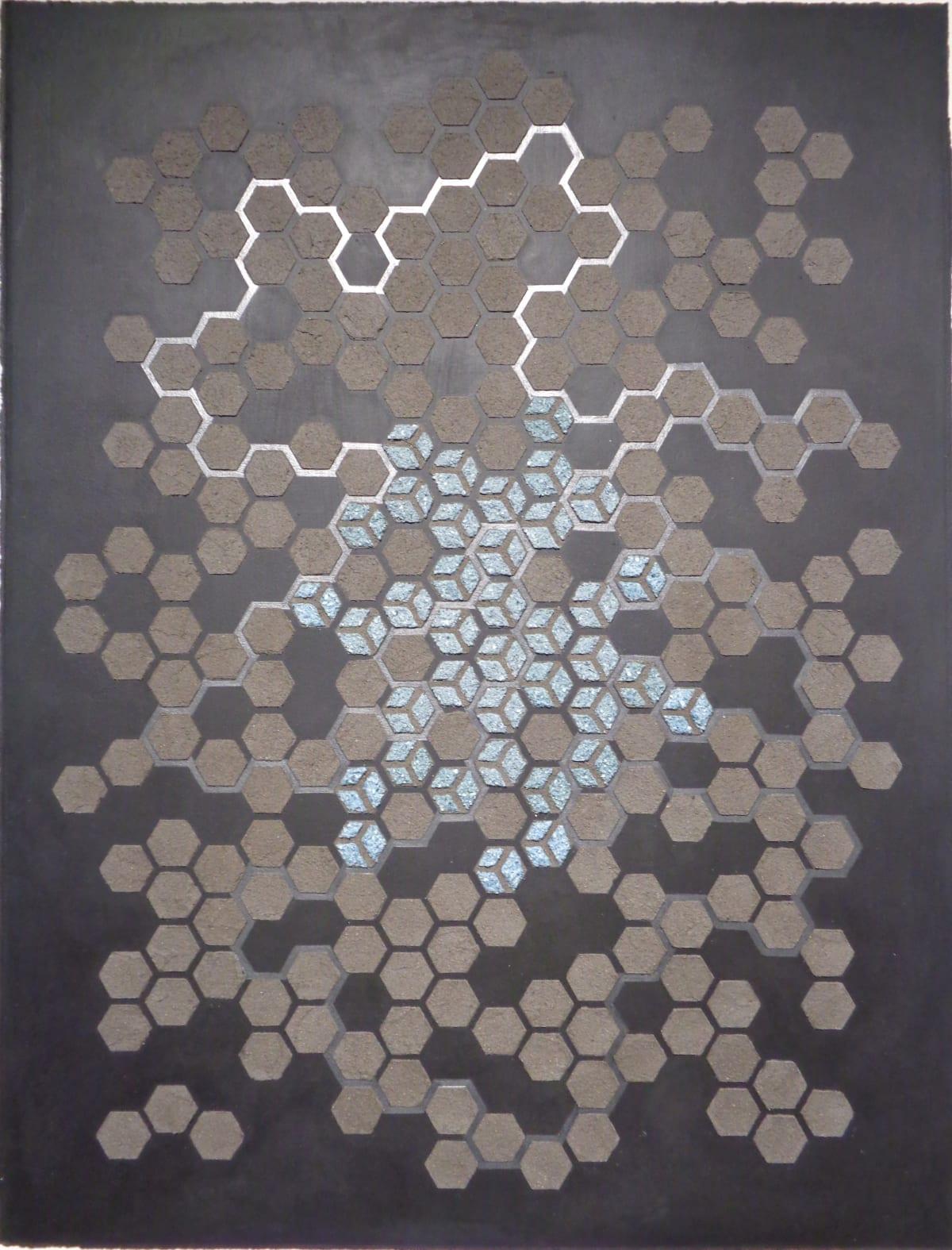 Eleanor White, Emu Ash Honeycomb Black Paper, 2018