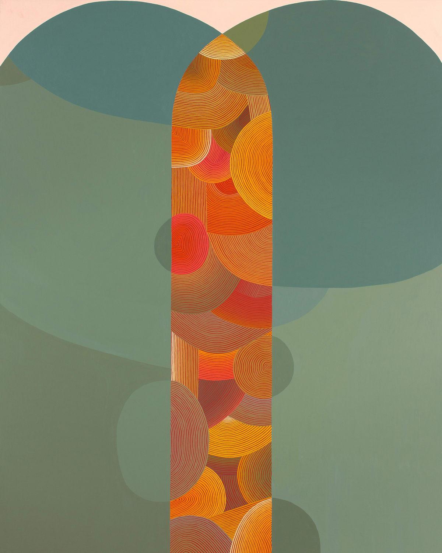 Abstraction: Daniel Anselmi, Lorraine Glessner, Jenny Kemp, Stephen Maine, Margaret Neill, Audrey Stone