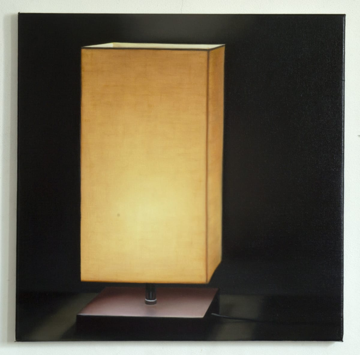 ARNOUT KILLIAN Lamp, 2018 oil on canvas 60 x 60cm signed and dated