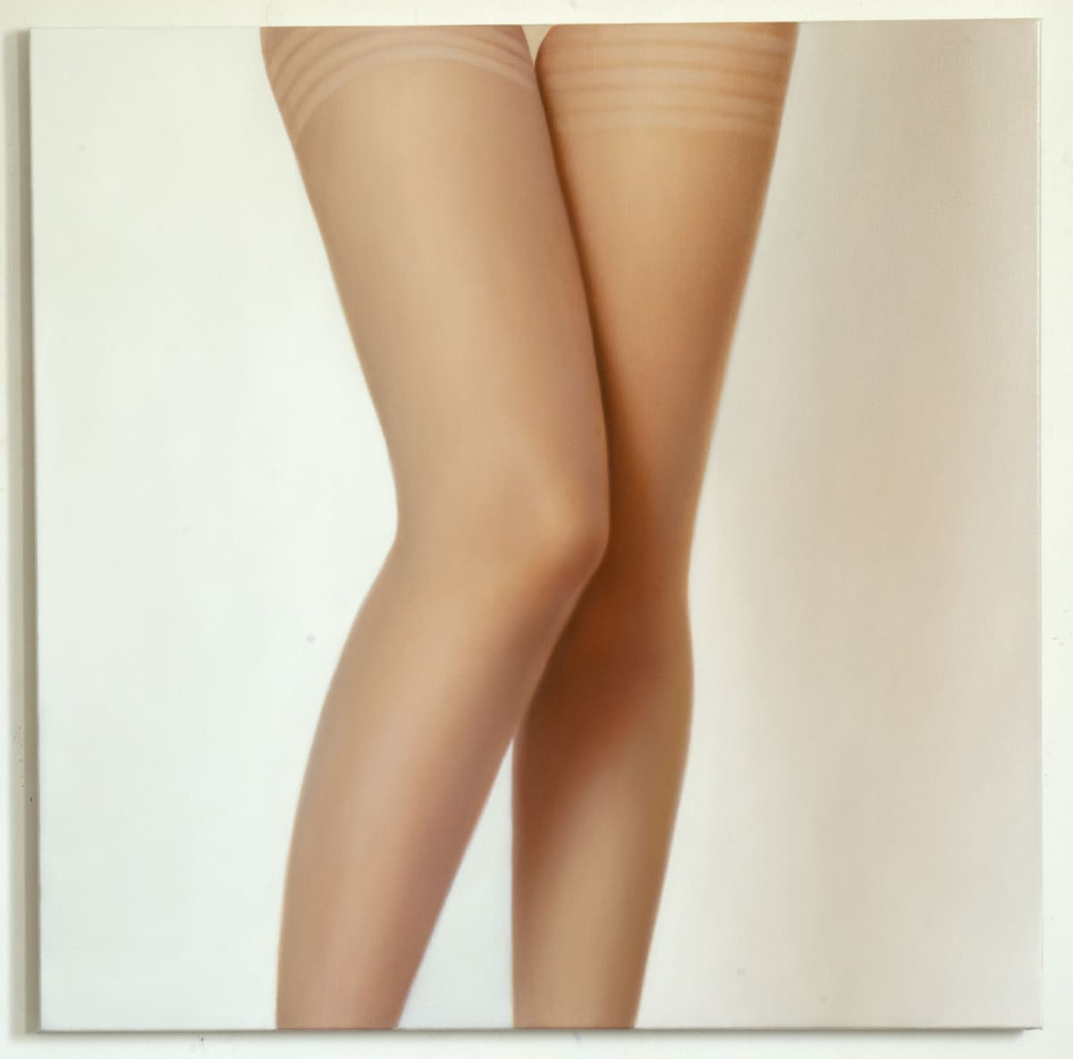 ARNOUT KILLIAN Legs, 2018 oil on canvas 110 x 110cm signed and dated