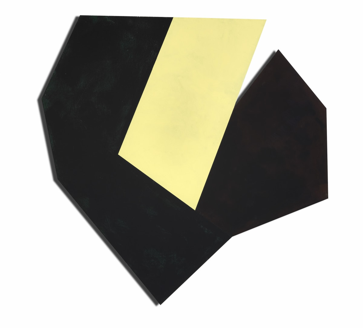 Ric Evans, Cardinal Elements (Yellow), 2019