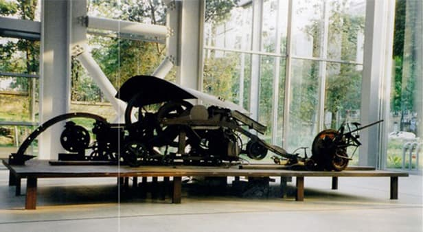 TINGUELY Jean, Memorial to Sacred Wind, 1969