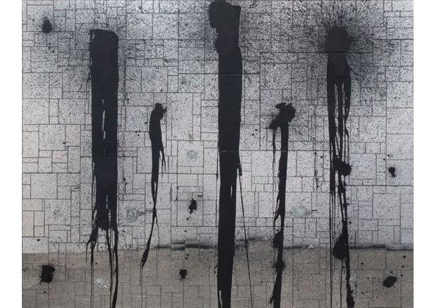 JOHNSON Rashid, Black Lines, 2012